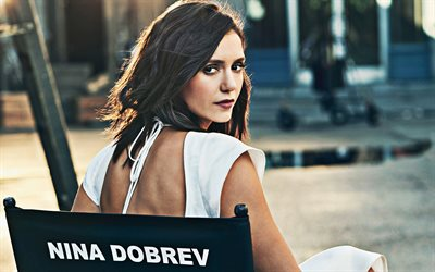Nina Dobrev, 2019, movie stars, Cbs Photoshoot, Hollywood, canadian actress, beauty, Nina Dobrev photoshoot