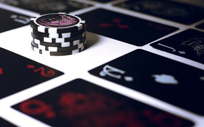 casino chips, playing cards, poker, casino cards, casino concepts