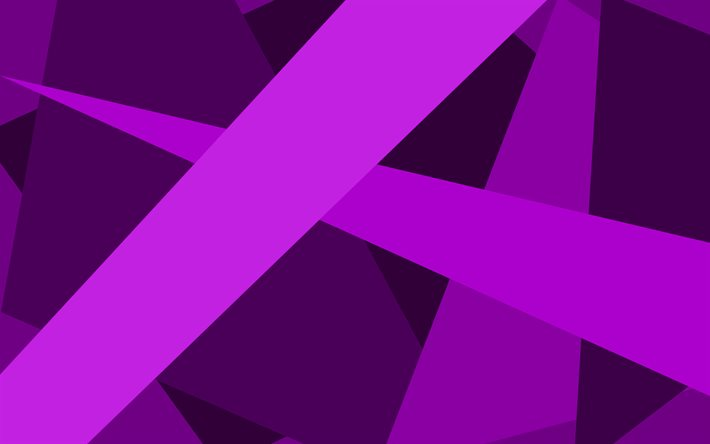 violet lines, creative, material design, geometric shapes, violet backgrounds, geometric art, background with lines