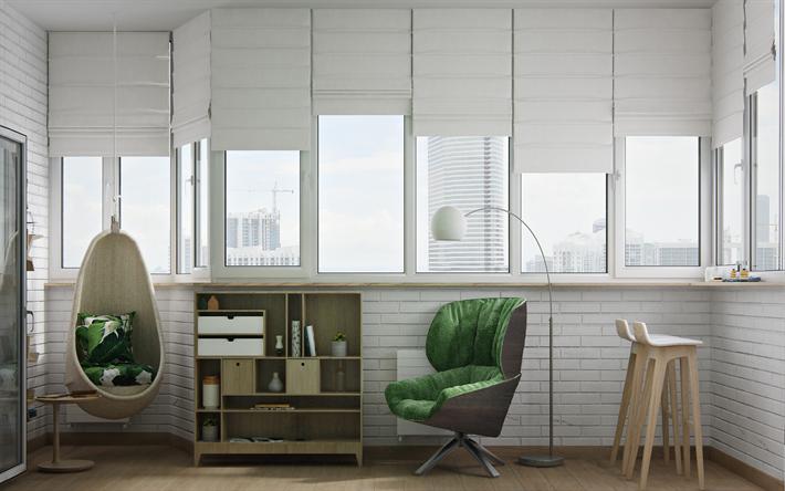 Bureau Moderne Suspendu : Télécharger fonds d écran l intérieur moderne design moderne