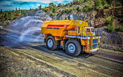 Belaz-76135, water carrier, 2020 trucks, LKW, watering machine, cargo transport, special machinery, Belaz