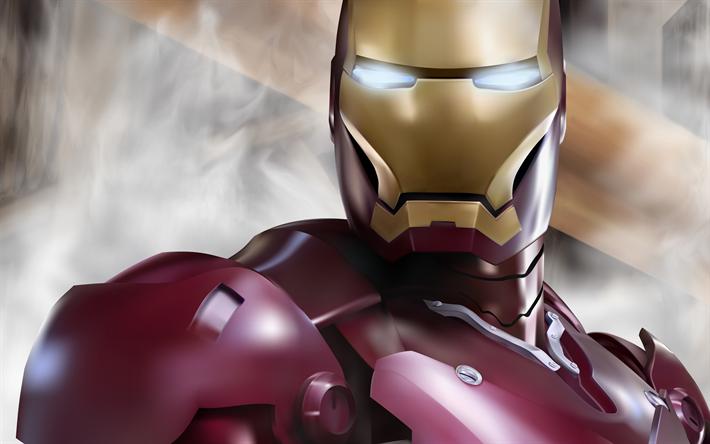 Descargar Iron Man 4 A2zp30: Descargar Fondos De Pantalla Iron Man, 4k, De Superhéroes