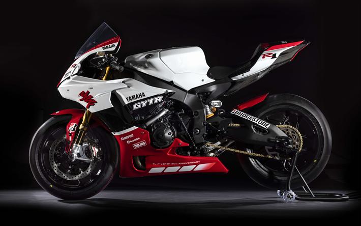 ダウンロード画像 ヤマハyzf R1 4k 側面 Sportsbikes 2019年のバイク