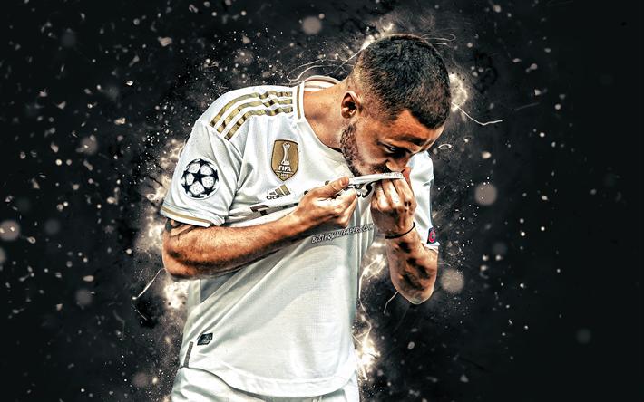 Download Wallpapers 4k Eden Hazard Belgian Footballers 2019 Real