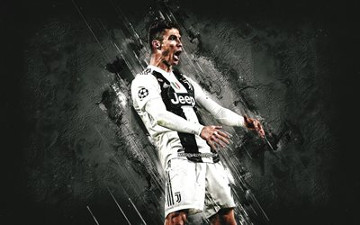 Cristiano Ronaldo, Portuguese footballer, CR7, Juventus FC, World Football Star, Juventus FC 2020 Football Players, Serie A, Italy, Football, Ronaldo