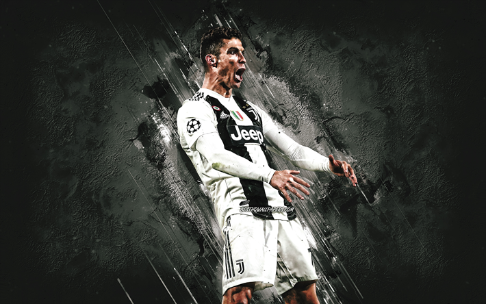 Download Wallpapers Cristiano Ronaldo Portuguese Footballer