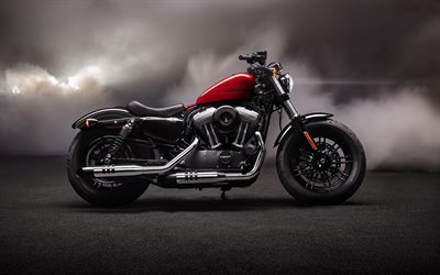 Harley-Davidson Forty-Eight, vista lateral, 2020 motos, american motorcyles, A Harley-Davidson