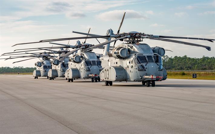 Elicottero Trasporto : Scarica sfondi sikorsky ch k re stallone militare