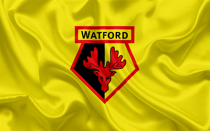 Download Wallpapers Watford, Football Club, Premier League