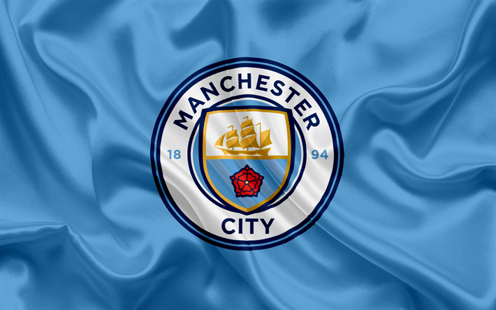 Download wallpapers manchester city football club new emblem manchester city football club new emblem premier league football manchester voltagebd Gallery
