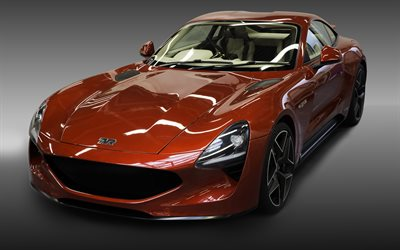 TVR Griffith, 4k, 2019 autovetture, supercar, il nuovo TVR, sportcars, TVR