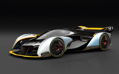 McLaren Ultimate, Vision GT, concept, 2017, Gran Turismo, Red Bull, racing car, sports cars