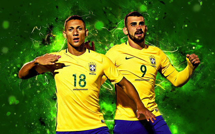 Richarlison Wallpaper: Download Wallpapers Richarlison, Goal, Brazil National