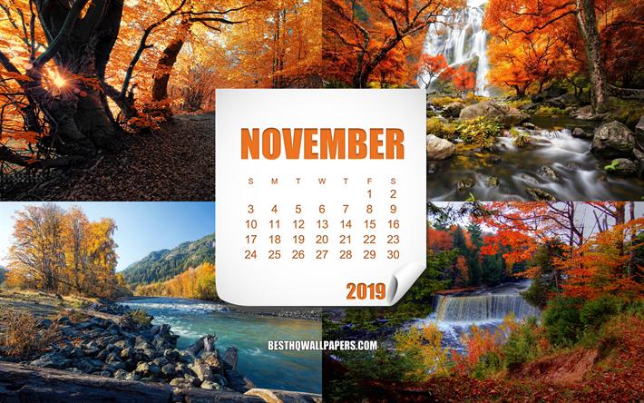 Telecharger Fonds D Ecran Calendrier Novembre 2019 Art