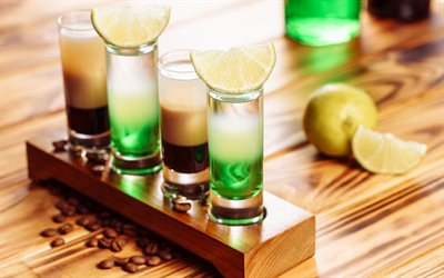 lime cocktail, cocktail glass, green cocktails, lime, alcoholic cocktails
