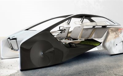 BMW i Inside, Future Concept, 2017, Future cars, new cars, BMW