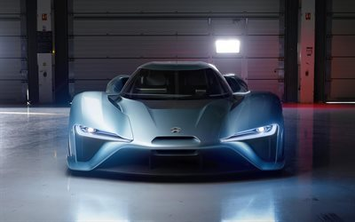 NIO EP9, 2017, fastest electric car, electric supercar