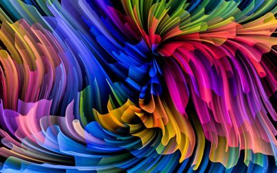 colorful vortex, abstract vortex, bright abstract