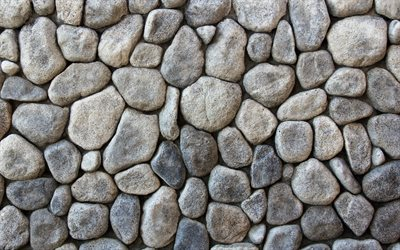gray pebbles, 4k, macro, gray stone texture, pebbles backgrounds, gravel textures, pebbles textures, stone backgrounds, gray stones, gray backgrounds, pebbles, gray pebbles texture