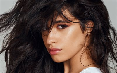 Camila Cabello, portrait, V Magazine photoshoot, american celebrity, brunette woman, beauty, Karla Camila Cabello Estrabao, american singer, superstars, Camila Cabello photoshoot