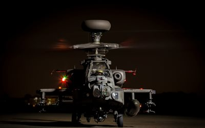 McDonnell Douglas AH-64 Apache, American combat helicopter, US Army, military aviation, USA, Apache
