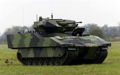 ASCOD, infantry fighting vehicle, military vehicle, Austrian armored vehicles, Spanish armored vehicles