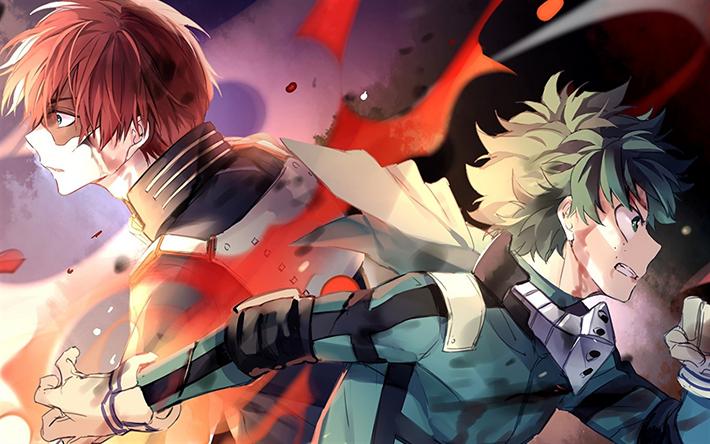 Download Wallpapers Boku No Hero Academia Izuku Midoriya