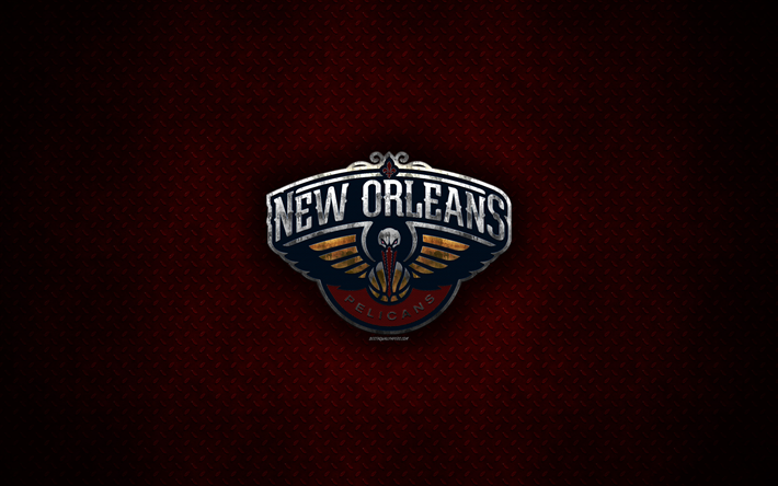 Download Wallpapers New Orleans Pelicans 4k American