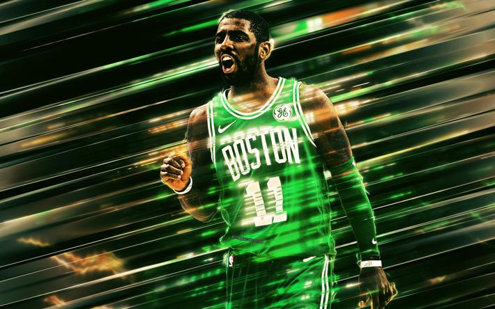 Descargar Fondos De Pantalla Kyrie Irving De Los Celtics De