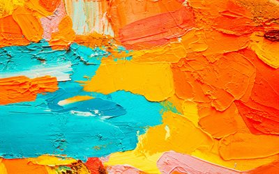paint splashes texture, orange blue splashes background, paint background, paint texture, grunge texture