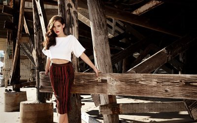 Zoey Deutch, actress, photoshoot, makeup, beautiful woman