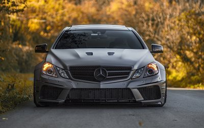 Mercedes-Benz E-Klass, tuning, road, tyska bilar, W212, Mercedes