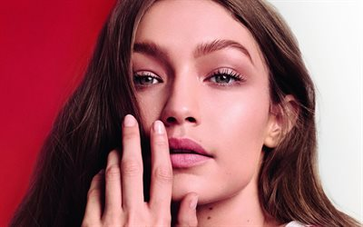 4k, Gigi Hadid, 2018, photoshoot, Tommy Hilfiger, beauté, Hollywood