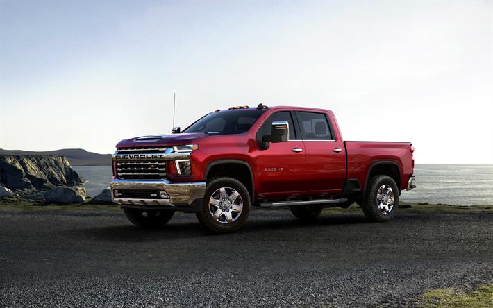 Download wallpapers 2020, Chevrolet Silverado, 2500 Heavy ...