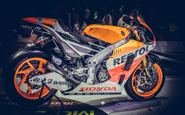 Honda RC213V, Repsol Honda Team, MotoGP, 2019, new race bike, japanese sportbikes, Honda