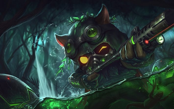 Teemo, monster, characters, League Of Legends