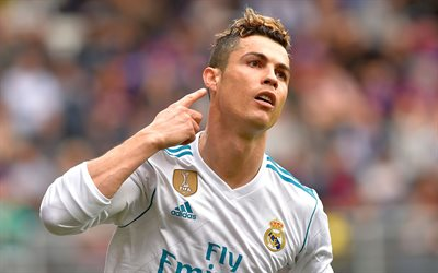CR7, goal, Cristiano Ronaldo, football stars, Real Madrid, close-up, soccer, La Liga, Cristiano Ronaldo dos Santos Aveiro, footballers