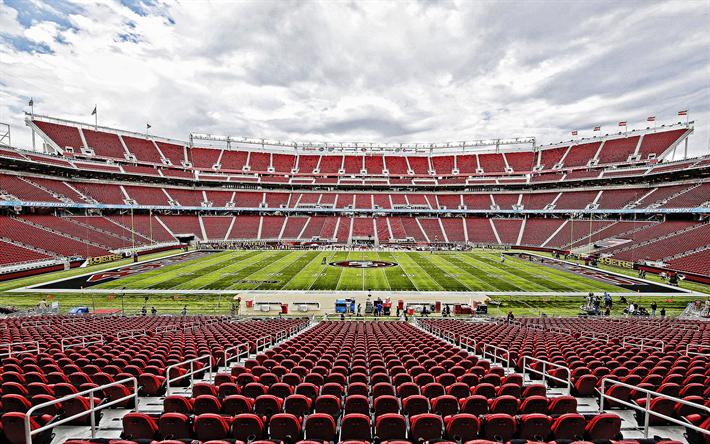 Download Wallpapers Levis Stadium San Francisco 49ers Stadium