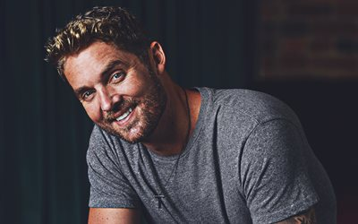 4k, Brett Young, 2019, american singer, superstars, guys, smiling Brett Young, american celebrity, Brett Young photoshoot