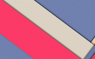 material design, pink and violet, colorful lines, geometric shapes, lollipop, triangles, creative, strips, geometry, colorful background