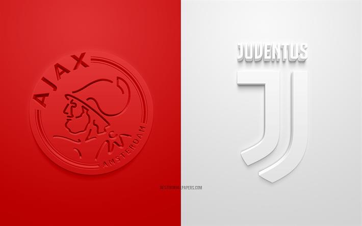 Scarica Sfondi Ajax Fc Vs Juventus Fc Uefa Champions League