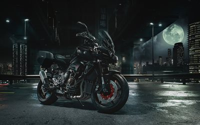 Yamaha MT-10, 2017, Black motorcycle, Japanese motorcycle, Yamaha