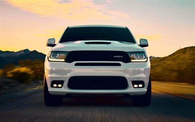 Dodge Durango SRT, SUVs, 2017 cars, movement, Dodge