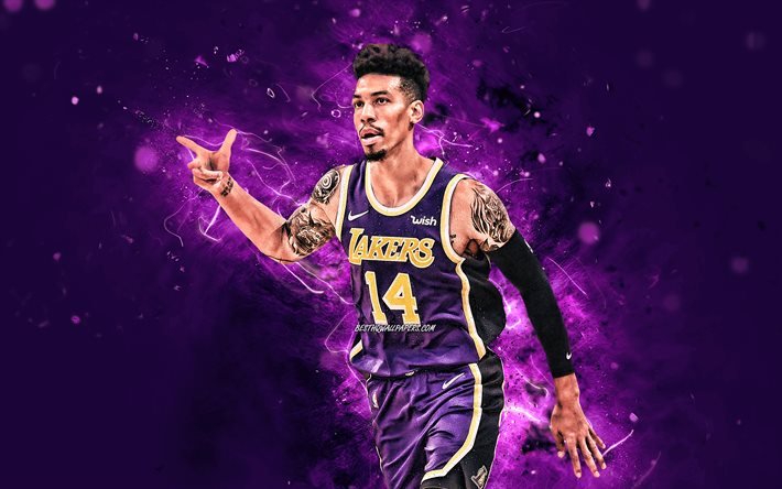 Download Wallpapers 4k Danny Green 2020 Nba Los Angeles Lakers Basketball Stars Violet Neon Lights Basketball Danny Green 4k La Lakers Creative Danny Green Lakers For Desktop Free Pictures For Desktop Free