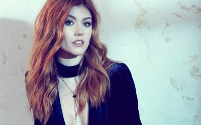 Katherine McNamara, Portrait, beautiful young woman, american actress