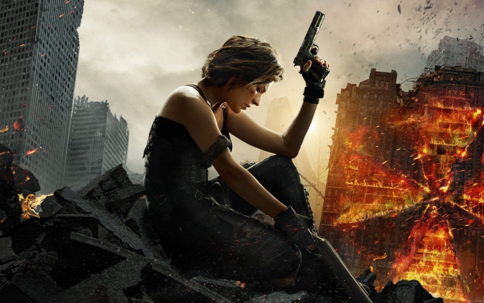 Resident Evil, The Final Chapter, Alice, Milla Jovovich