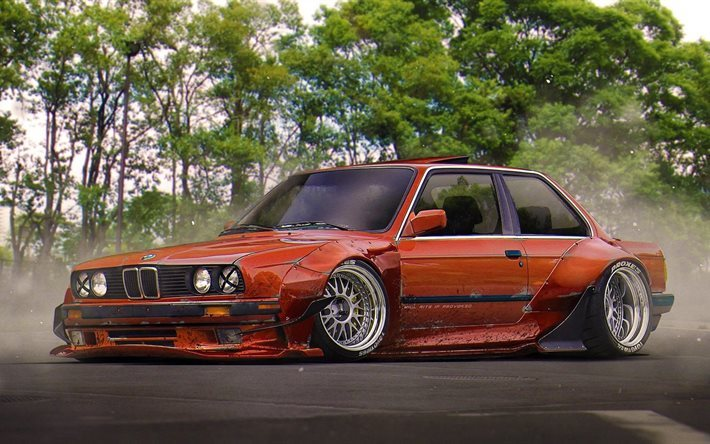 Download Wallpapers Bmw E30 Tuning For Desktop Free Pictures For