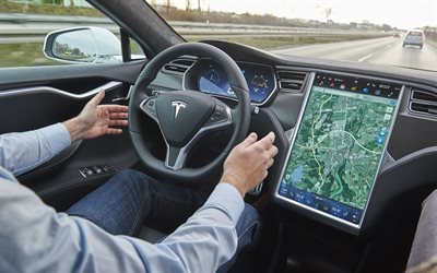 tesla, model s, new electric car, autopilot