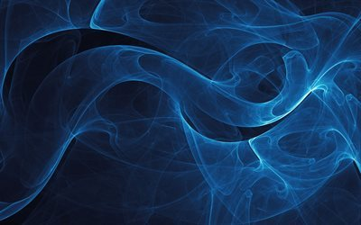 smoke, blue background, texture