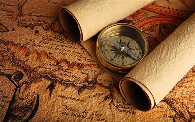 old maps, texture, compass